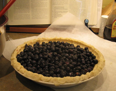 pie before crumb crust
