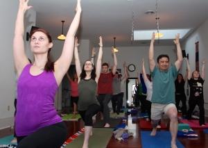 2013 Yoga Challenge, Day 1.