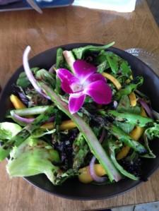 Pretty salad
