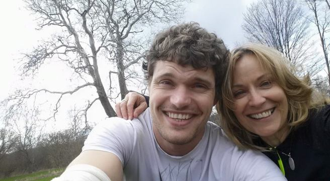 Vince and Kath, April 21, 2015